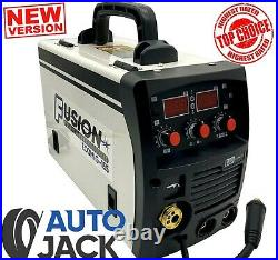 Autojack 3 in 1 Inverter Welder MIG / ARC MMA / DC TIG 155A Gas and Gasless 230V