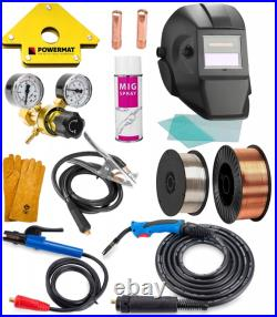 PROFESSIONAL MIG MAG TIG 3in1 230A INVERTER welding FREEBIES