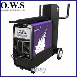 Parweld XTM252i 250A SYNERGIC MIG INVERTER with torch, reg, and leads SINGLE PHASE